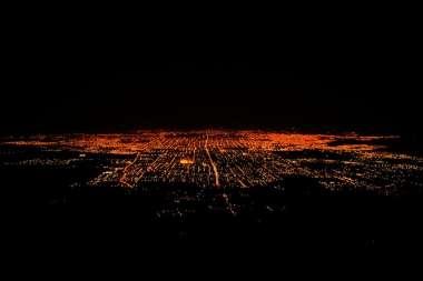 Vistas aérea de San Miguel de Tucumán desde el Cerro San Javier