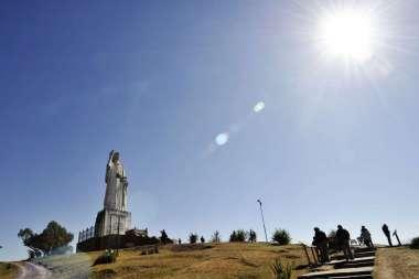 El Cristo Bendicente, Cerro San Javier