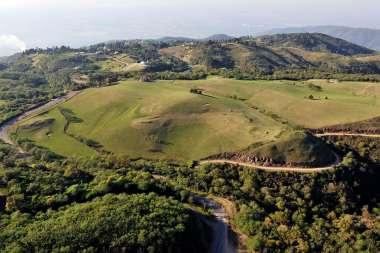 Vistas aéreas de San Javier, localidad de la Provincia de Tucumán