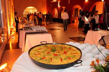 Servicio de catering para eventos del Hotel Sol San Javier