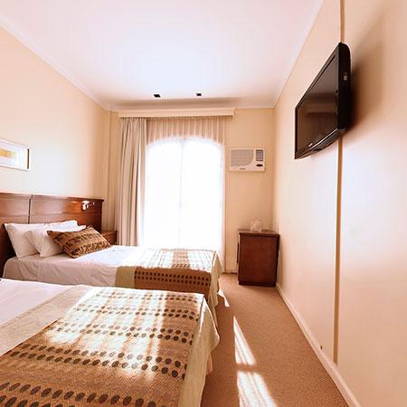 Habitaciones dobles deluxe del Hotel Sol San Javier