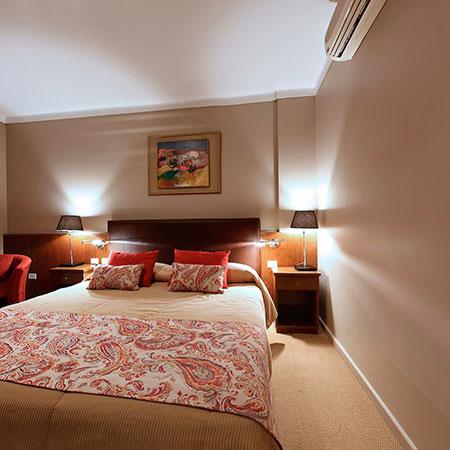 Habitaciones del Hotel Sol San Javier en Tucumán