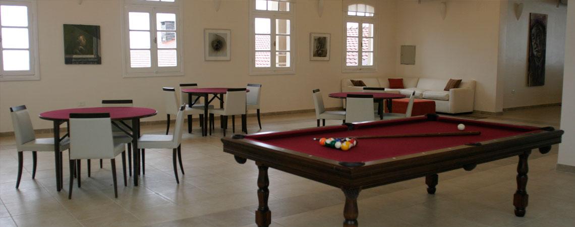 Actividades en el Hotel: Mesa de pool