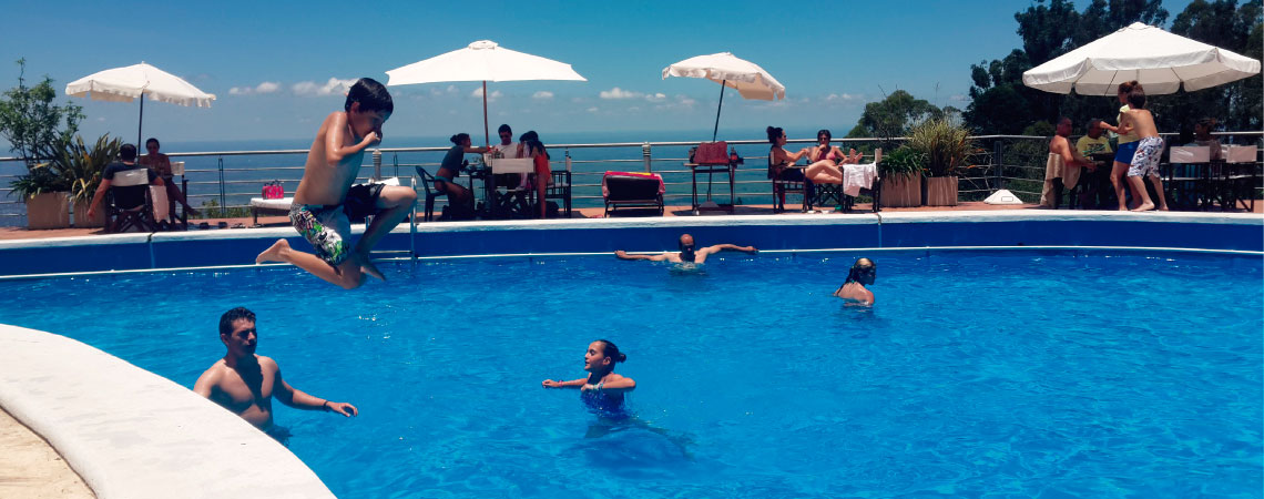 Piscina del Hotel Sol San Javier