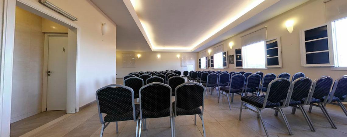 Sala para conferencias del hotel